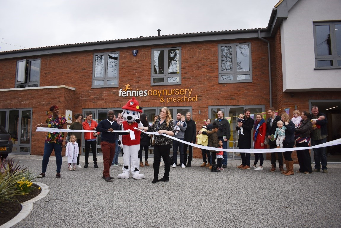 Fennies Nursery opens in Oxted