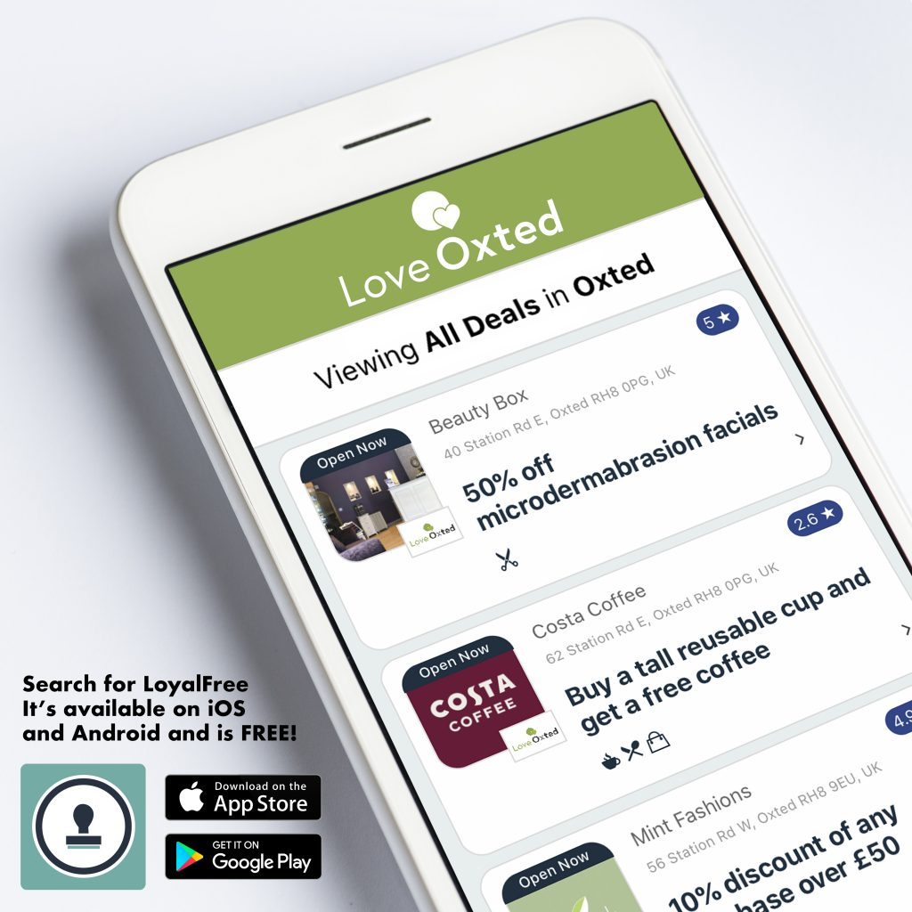Download The FREE Love Oxted App