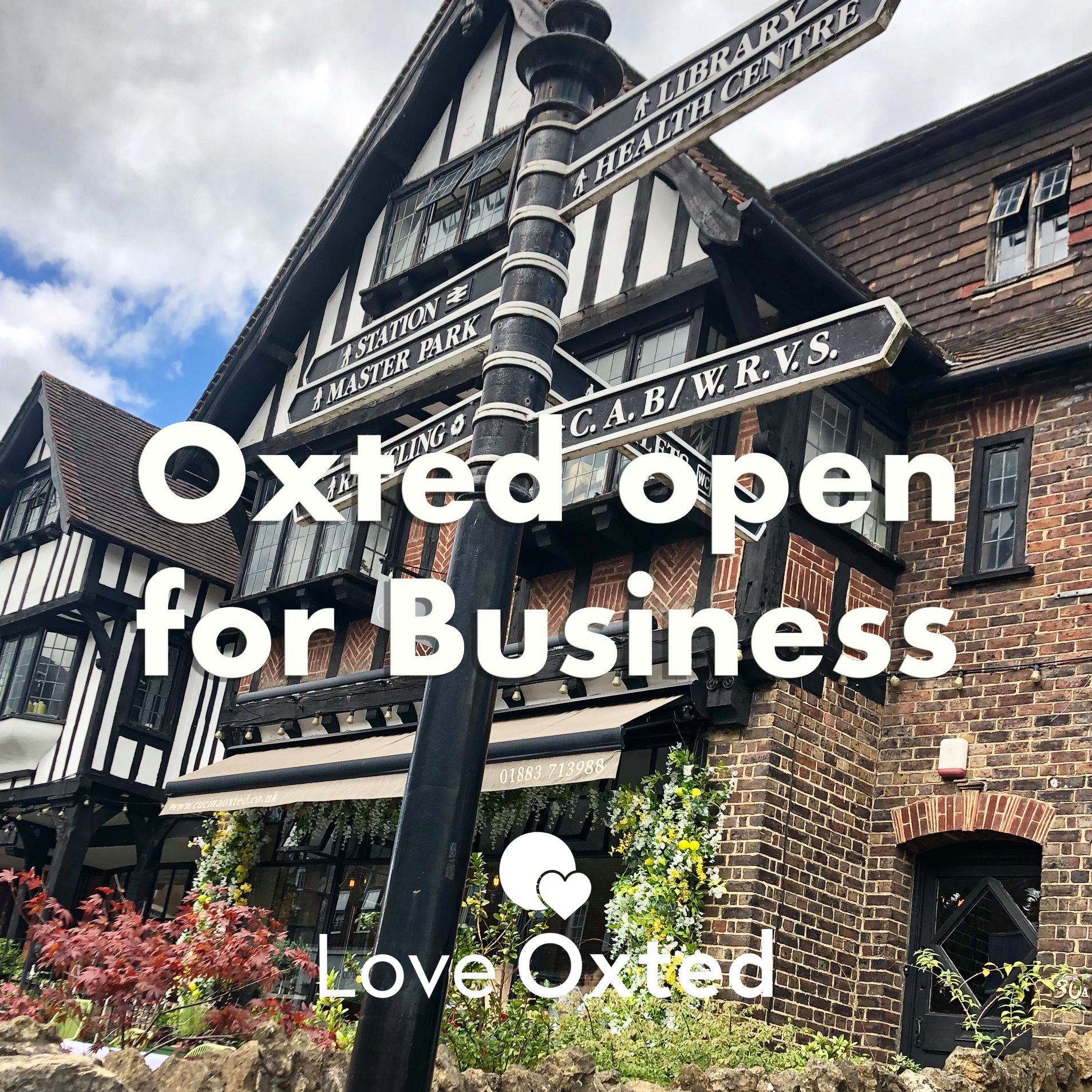 Oxted us open for business